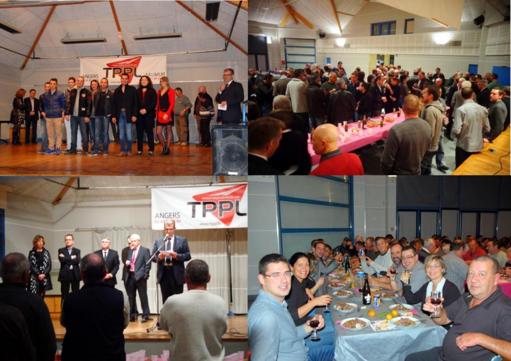 Soirée de fin d'année chez TPPL à MOZE SUR LOUET le 18 décembre 2014